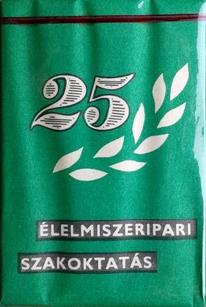 25 éves az Élelmiszeripari Szakoktatás