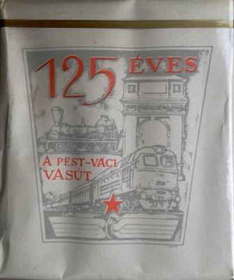 125 éves a Pest-Váci Vasút