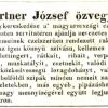 1841.08.28. Gärtner dohánykereskedés