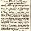 1842.03.03. Gärtner dohánykereskedés