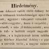 1843.02.05. Gärtner dohánykereskedés