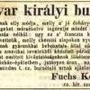 1843.03.16. Fuchs dohánykereskedés