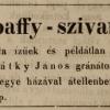 1843.06.21. Apaffy-szivarok