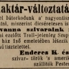 1845.05.06. Enderes dohánykereskedő