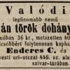 1845.06.10. Enderes - Török-dohány