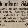1845.12.12. Zechmeister dohánykereskedés