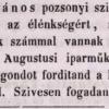 1846.06.09. Eckstein János dohánygyáros