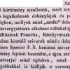 1846.07.07. Spanier Ferdinánd szivargyáros