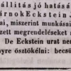 1846.11.03. Eckstein János szivargyára