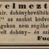 1846.12.17. Fuchs dohánykereskedés