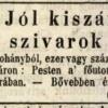 1847.03.11. Jól kiszáradt szivarok