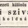 1847.03.16. Honi szivarok
