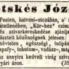 1847.04.09. Ketskés József dohánygyáros