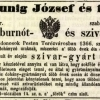 1847.07.25. Kunig József szivargyára