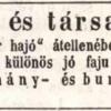 1847.08.15. Jankó dohánykereskedés