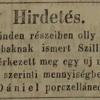 1848.07.16. Szilli szivarok