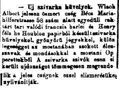 1884.03.27. Új szivarkahüvelyek