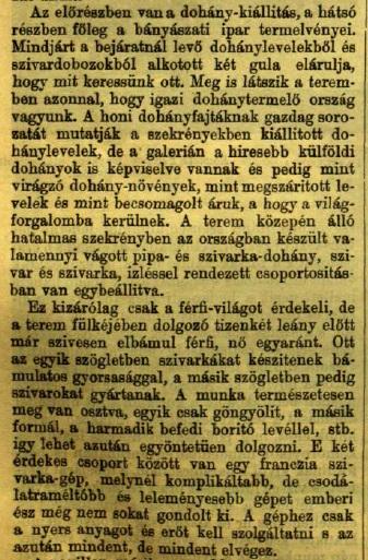 1885.06.14. Országos Kiállítás
