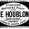 1889.07.13. Le Houblon cigarettapapír