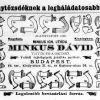 1893.11.20. Minkus Dávid tajtékpipái