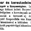 1898.02.15. Szepesbélai Dohánygyár