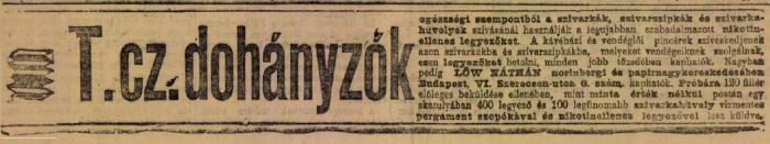 1902.10.05. Nikotinellenes legyezők