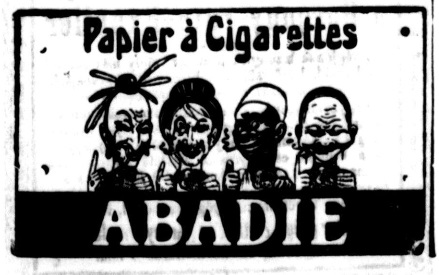 1912.06.09. Abadie cigarettapapír