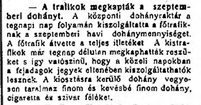 1920.09.24. Szeptemberi dohány