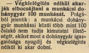 1925.09.08. Munkácsi Dohánygyár