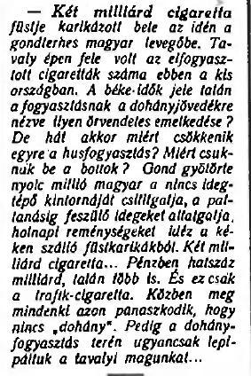 1926.09.17. Kétmilliárd cigaretta
