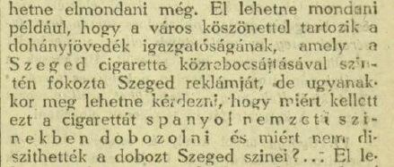 1937.07.30. Szeged cigaretta