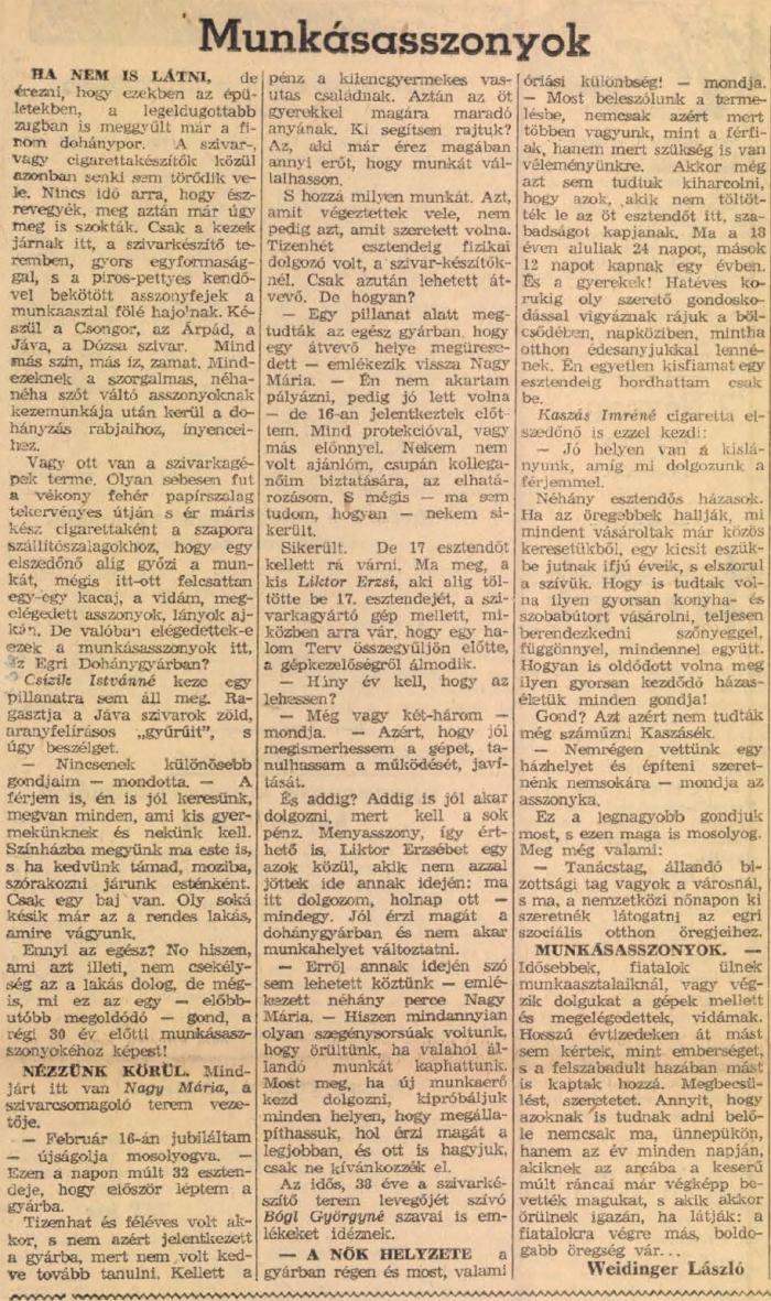1959.03.08. Egri Dohánygyár