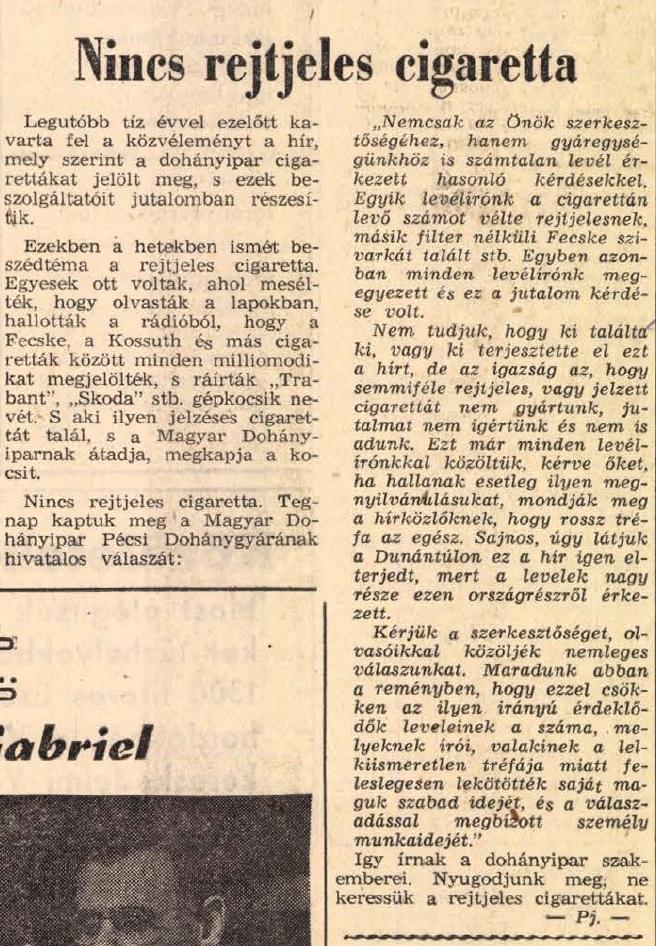 1967.08.22. Téves információk