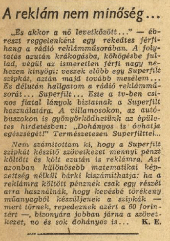 1969.10.14. Superfilt szipka