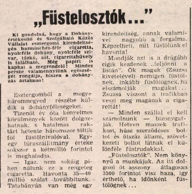 1986.05.19. Füstelosztók