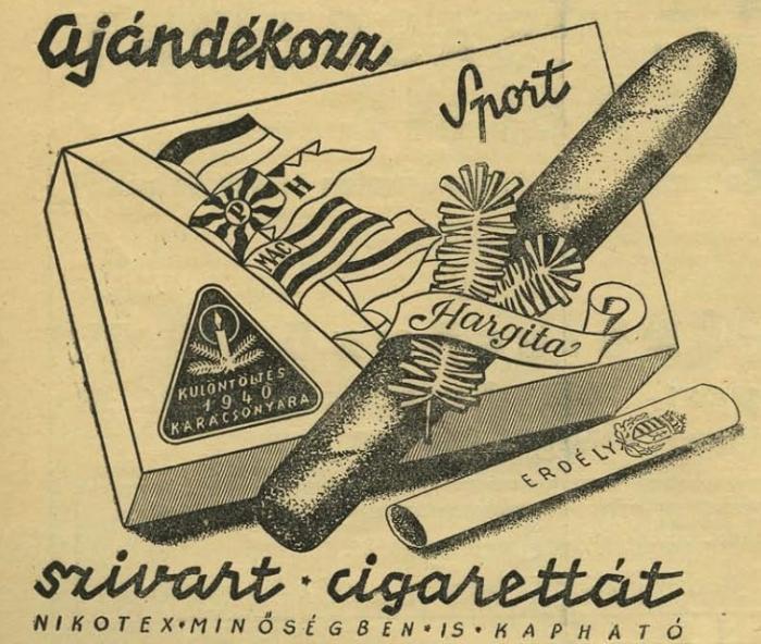 Ajándékozz szivart, cigarettát 3.