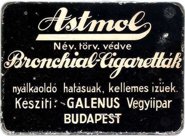 Astmol gyógycigaretták