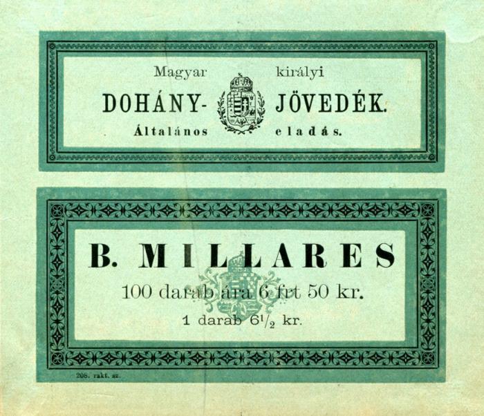 B betűs Millares 1.