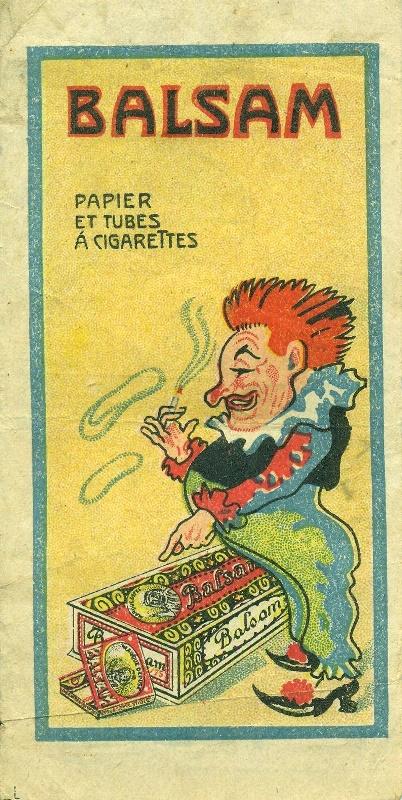 Balsam cigarettapapír és hüvely
