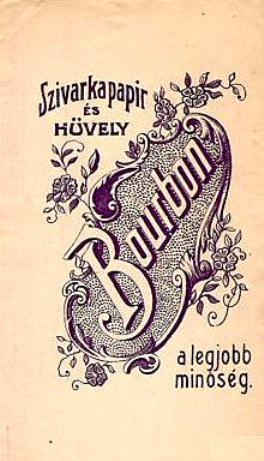 Bourbon cigarettapapír 2.