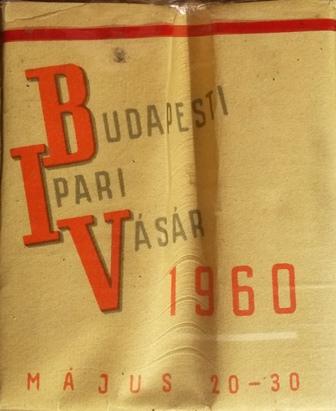 Budapesti Ipari Vásár 1960.