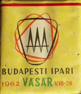 Budapesti Ipari Vásár 1962.