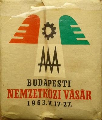 BNV - Budapesti Nemzetközi Vásár 1963.