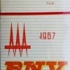 BNV - Budapesti Nemzetközi Vásár 1967.