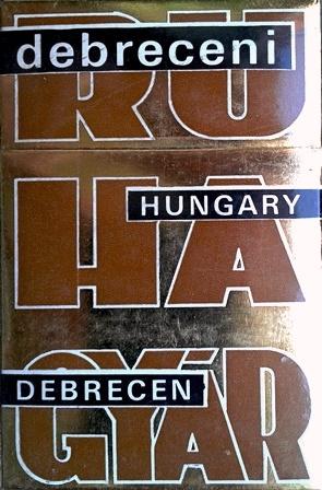 Debreceni Ruhagyár 1.