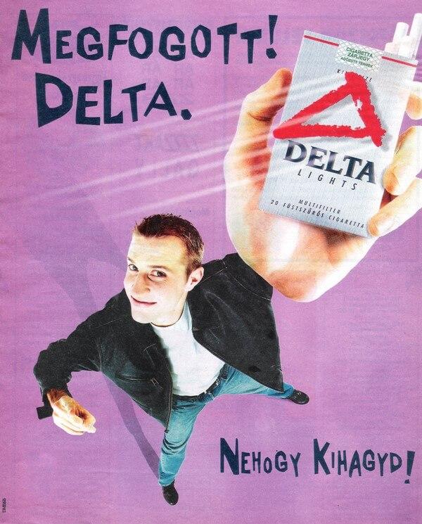 Delta cigaretta 2.