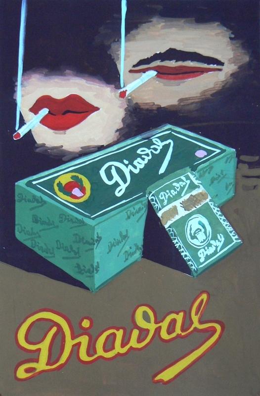 Diadal plakátterv 4.