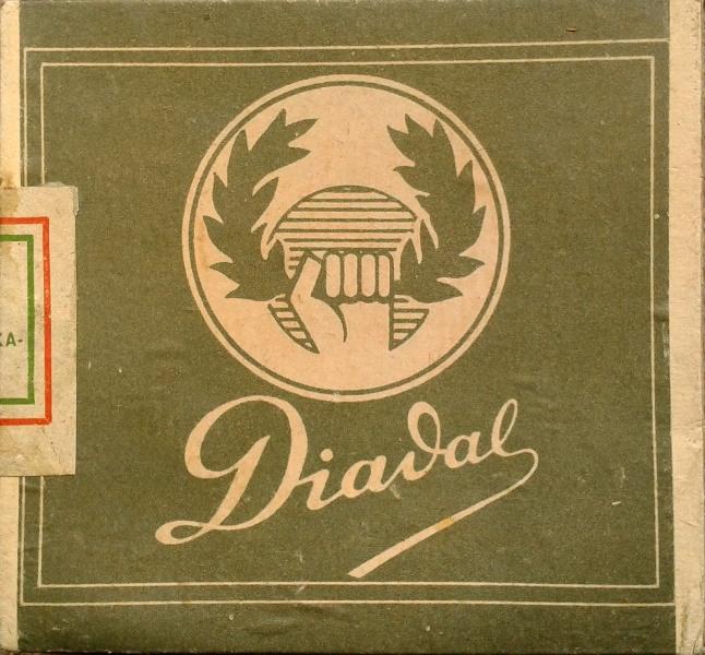 Diadal cigarettapapír gyűjtőcsomagolásban
