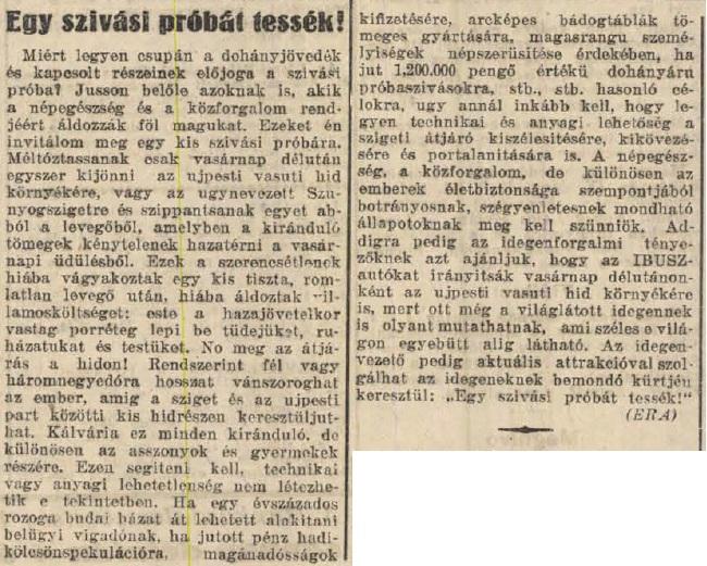 1932.05.22. Dohányos csalás