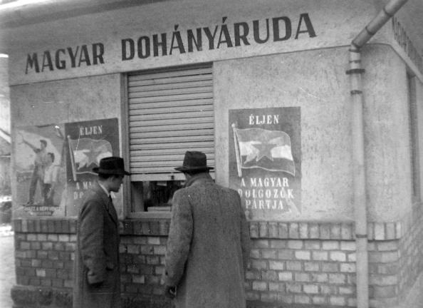 Budapest, Rákosi és Rákóczi út - Dohányáruda